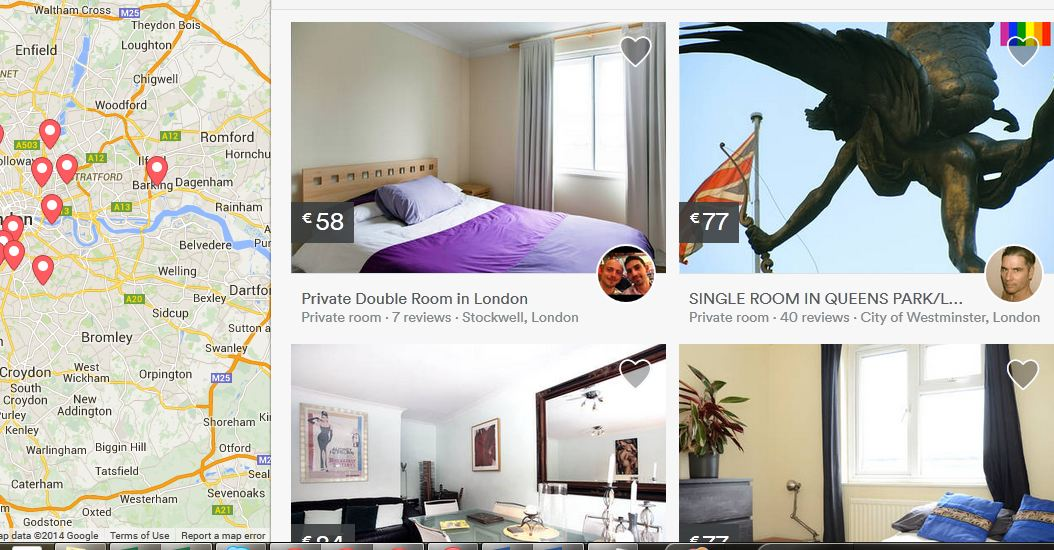 gay friendly airbnb rooms