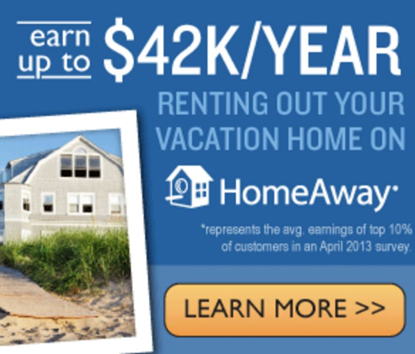 Homestay vacation rentals