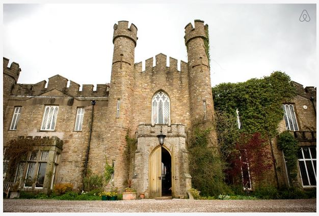 ancient british castle vacation rental
